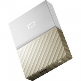 WD WDBFKT0020BGD My Passport Ultra USB 3.0 2TB SSD - Gold  (NEW Metal)