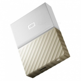 WD WDBFKT0040BGD My Passport Ultra USB 3.0 4TB SSD - Gold (NEW Metal)