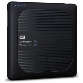WD WDBSMT0030BBK mein Pass Wireless Pro USB 3.0 3 TB SSD