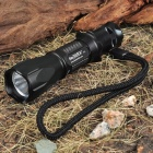 NEXTORCH TA1 SSC-42180 60-Lumen White LED Flashlight w/ Strap & Battery Set - Black (1 x AA)