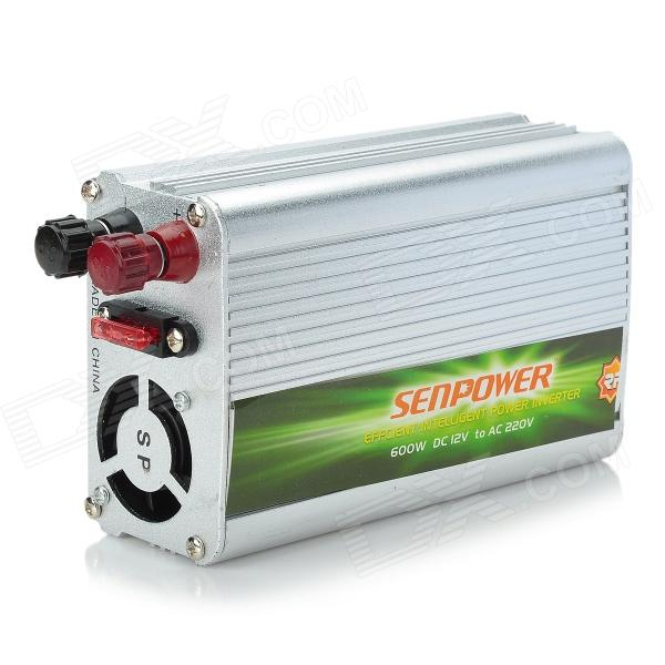 600W Car 12V DC to 220V AC Power Inverter with USB Power Port ch2939