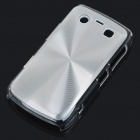 Protective PC + Aluminum Backside Cover for BlackBerry 9700 - Silver