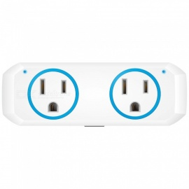 OUKITEL P1 Wi-F Mini Smart Plug Socket, Works with Alexa Echo Google Home and IFTTT - Blue