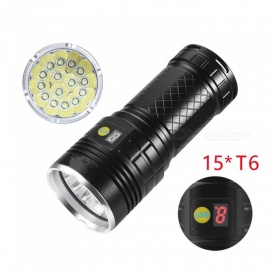 SPO T6 High Power Direct Charging Torch Lamp Flashlight
