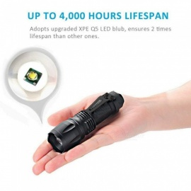 SPO T6 Portable Mini Strong Light Flashlight Torch for Home Cycling Outdoor
