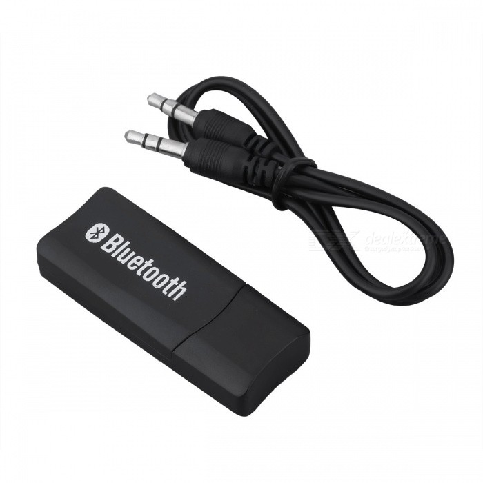 JEDX USB Wireless Bluetooth Music Stereo Receiver Adapter with 3.5mm ... 0c62f2f6581e4