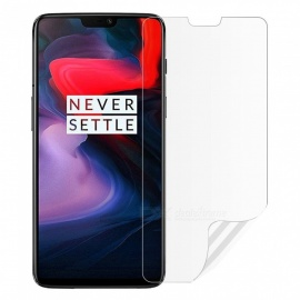 Nano Explosion-proof Protective Soft Film for OnePlus 6 - Transparent