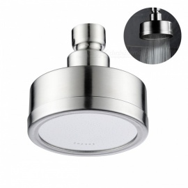 BD141S Shower Head Stainless Steel Rainfall High Pressure Fixed Showerhead for Bathroom - Silver