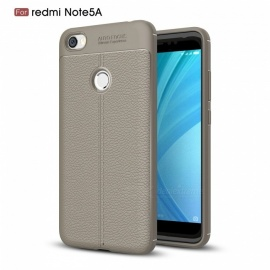 ZHAOYAO Soft Rubber TPU Protective Back Cover Case for Xiaomi Redmi Note 5A - Grey