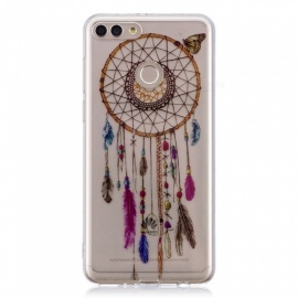ESAMACT High Quality TPU Mobile Phone Case for Huawei Y9 - Dreamcatcher Pattern