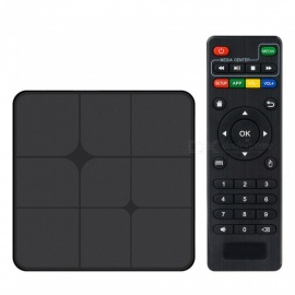 T96 Marx Smart Android TV Box Android 7.1 RK3229 1GB RAM, 8GB ROM - Black EU Plug
