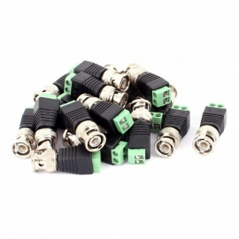 BTOOMET 10Pcs CCTV BNC Connectors