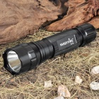 FANDYFIRE 501B SSC P7 3-Mode 900-Lumen White LED Flashlight with Strap - Black (1 x 18650)