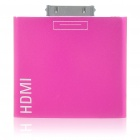 HDMI Adapter for iPad/iPhone 4 - Rose Red