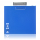 HDMI Adapter for iPad/iPhone 4 - Blue