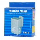 Wireless Visitor Alarm Entry Alert Door Chime for Shop Store Entrance - Gray (3 x AA)