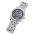 Wilon Manual-Winding Mechanical Wrist Watch - Silver + Grey
