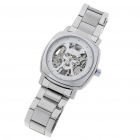 Wilon Manual-Winding Mechanical Wrist Watch - Silver + White