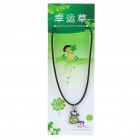 Stylish Lucky Clover Constellation Style Pendant Necklace - Aries