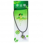 Stylish Lucky Clover Constellation Style Pendant Necklace - Cancer