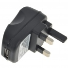UK Type Travel Charger/Power Adapter for Samsung P1000 (100~250V)