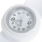 Creative Fashion Children Silicone Quartz Wrist Watch - White (1*377)