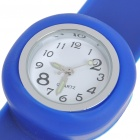 Creative Fashion Children Silicone Quartz Wrist Watch - Random Style (1*377)