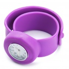 Creative Fashion Children Silicone Quartz Wrist Watch - Purple (1*377)