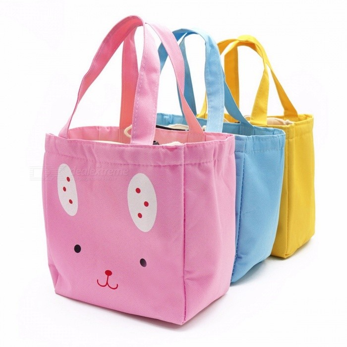 3afde1f6cfe5 Cartoon Cat Insulated Lunch Bag Canvas Thermal Food Picnic Bags Travel  Cooler Lunch Box Bag Tote - Free shipping - DealExtreme