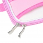 "Protective Soft Carrying Bag with Shoulder Strap for 10"" Laptop (Pink)"