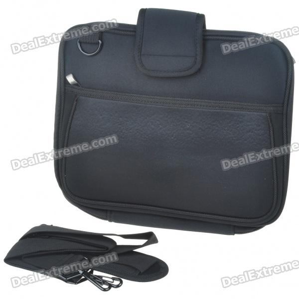"Protective Soft Carrying Bag with Shoulder Strap for 10"" Laptop (Black)"