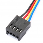 PWM 4-Pin Male to Female Extension Cable - Multicolored (30cm)