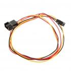 3-Pin Male to Female Connection Extension Cable for Cooling Fan (60CM-Length)