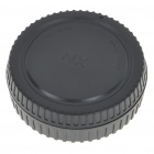 Camera Body + Rear Lens Cap Cover Set for Samsung NX