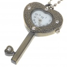 Cute Key Style Alloy Quartz Watch with Neck Chains (1*377)