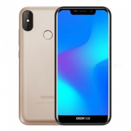 "DOOGEE X70 5.5"" Full Screen IPS Android 8.1 3G Phone w/ 2GB RAM, 16GB ROM - Golden"