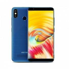 """Vernee T3 Pro Android 8.1 MT6739 Quad-Core 1.3GHz 5.5"""" Phone with 3GB RAM, 16GB ROM - Blue"""