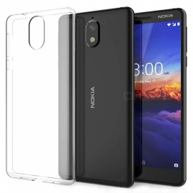 Naxtop TPU Ultra-thin Soft Case for Nokia 3.1 - Transparent