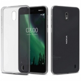 Naxtop TPU Ultra-thin Soft Case for Nokia 2 - Transparent
