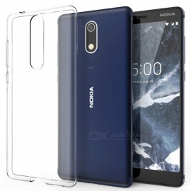 Naxtop TPU Ultra-thin Soft case for Nokia 5.1 -Transparent