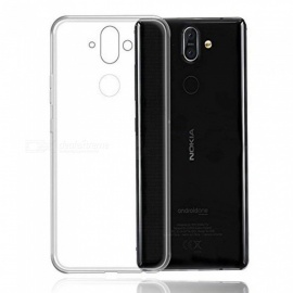 Naxtop TPU Ultra-thin Soft Case for Nokia 8 Sirocco -Transparent