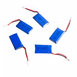 5 PCS 3.7V 350mAh Fullmax Lithium Polymer High Power Li-po Batteries for Syma X8C X8W RC Quadcopter