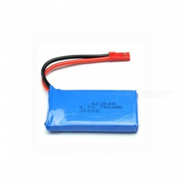 3.7V 780mAh 603048 Lithium Polymer High Power Li-po Battery for Syma X8C X8W RC Quadcopter - blue