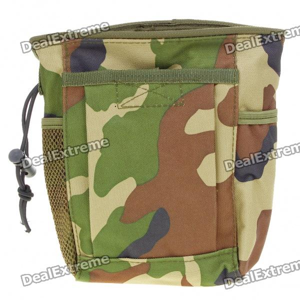 Military Tactical Outdoor Portable 600D Oxford Cloth Storage Bag - Camouflage spark storage bag portable carrying case storage box for spark drone accessories can put remote control battery and other parts