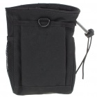Military Tactical Outdoor Portable 600D Oxford Cloth Storage Bag - Black