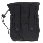 Military Tactical Outdoor 600D Oxford Cloth Storage Bag - Black
