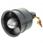 68mm Electric Duct Fan + 3900KV Motor - Silver Black