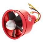 64mm Electric Duct Fan + 3900KV Motor - Red