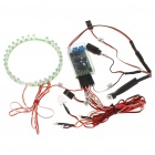 32-LED Red Lighting System with Afterburn for RC Lander F16