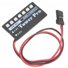 Universal Power Level LED Indicator for JR/FUTABA Helicopters (4.8V/6.0V)